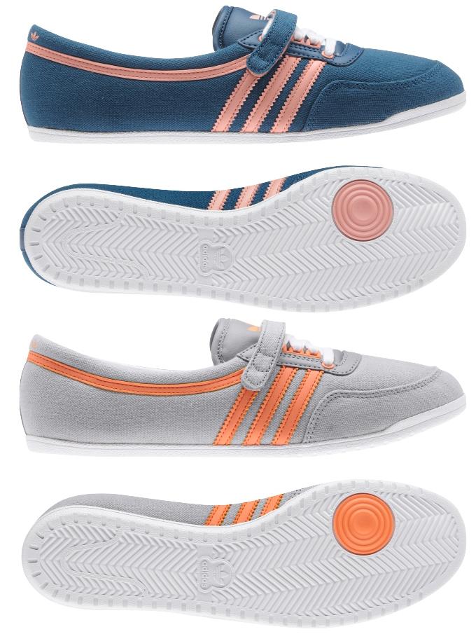 New Womens Adidas Originals Concord Round Ballerina Pumps Shoe ... 2566ee45bc