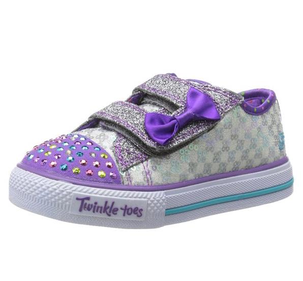 new girls kids infants skechers twinkle toes light up. Black Bedroom Furniture Sets. Home Design Ideas
