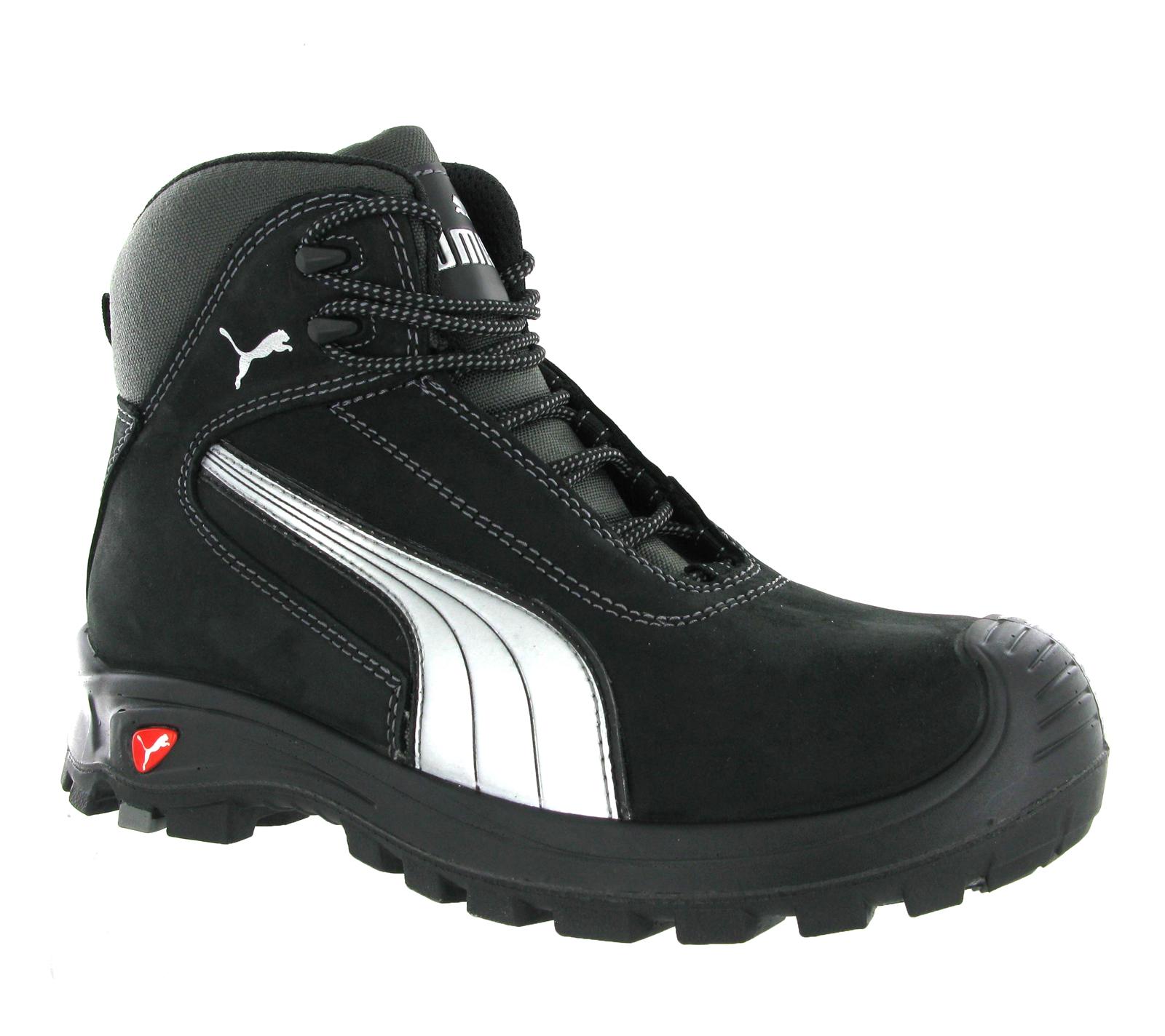Puma mens cascadas negro s3 src seguridad entresuela y for Zapatillas de seguridad