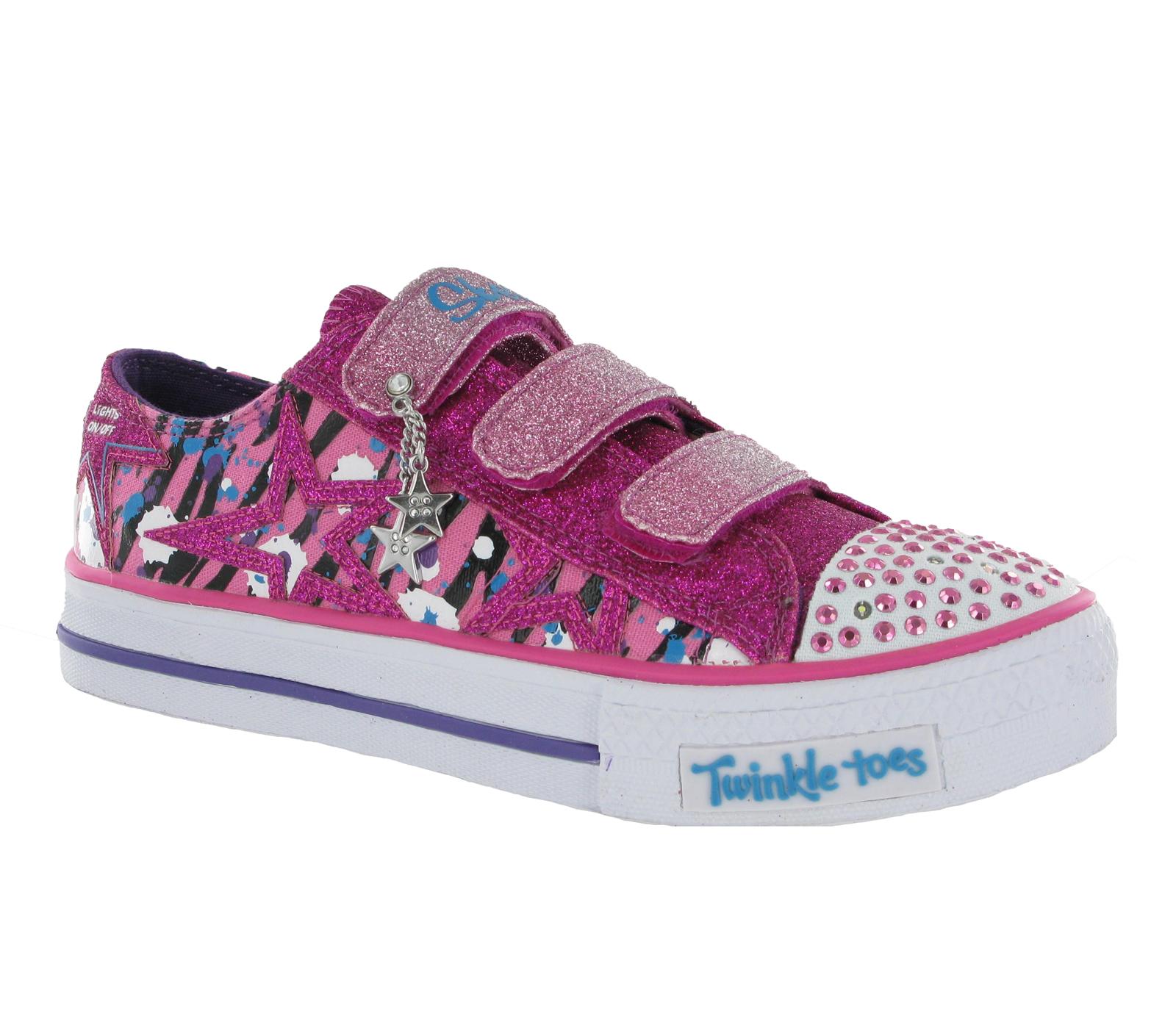 skechers shoes for girls kids. new-older-girls-kids-skechers-twinkle-toes-light- skechers shoes for girls kids