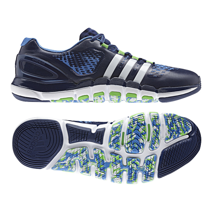 Adidas Adipure Crazyquick Navy Blue Mens Trainers Training