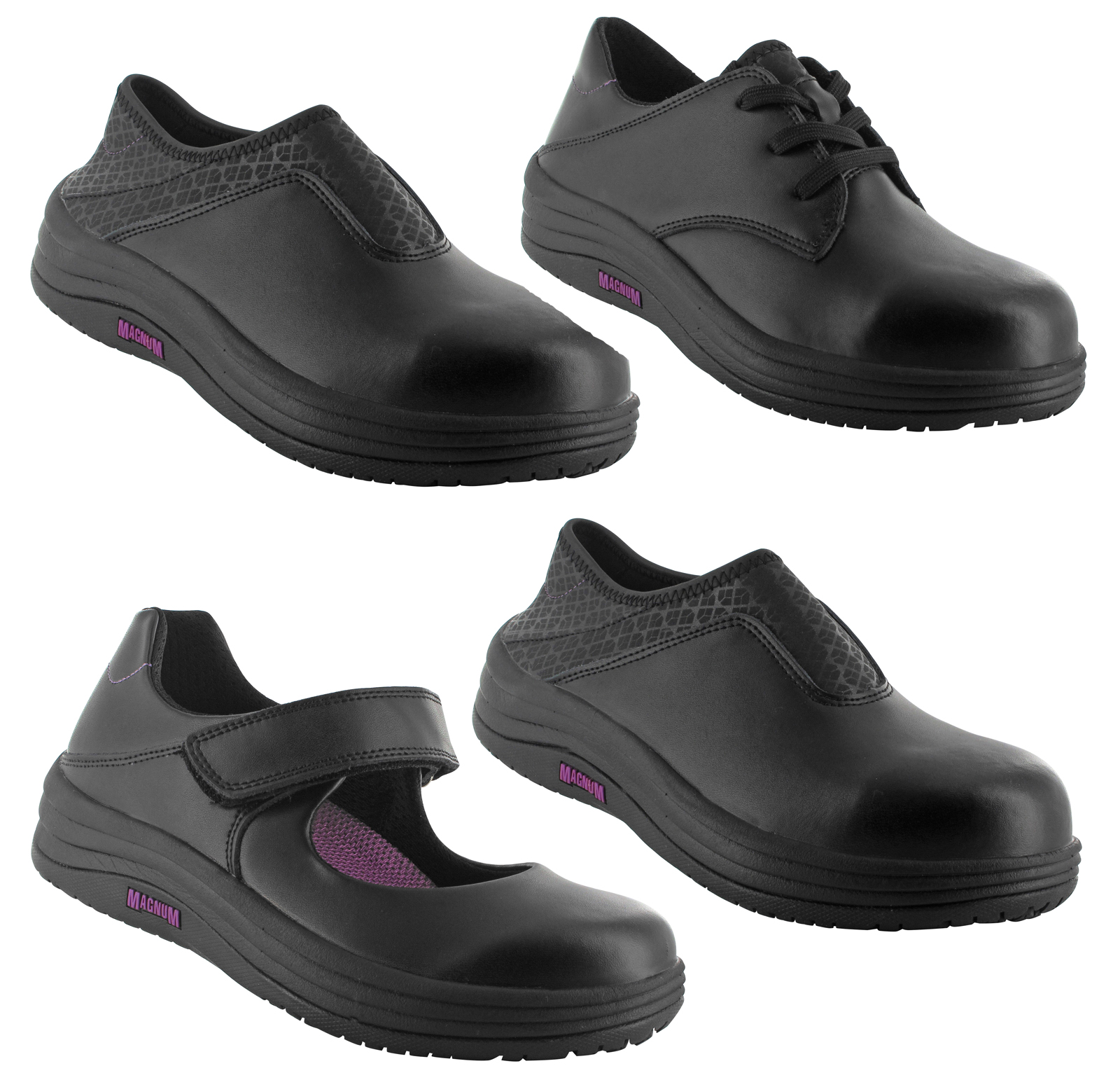 Shoes For Crews - Ballerina II - Black / Women's Slip Resistant Dress Shoes