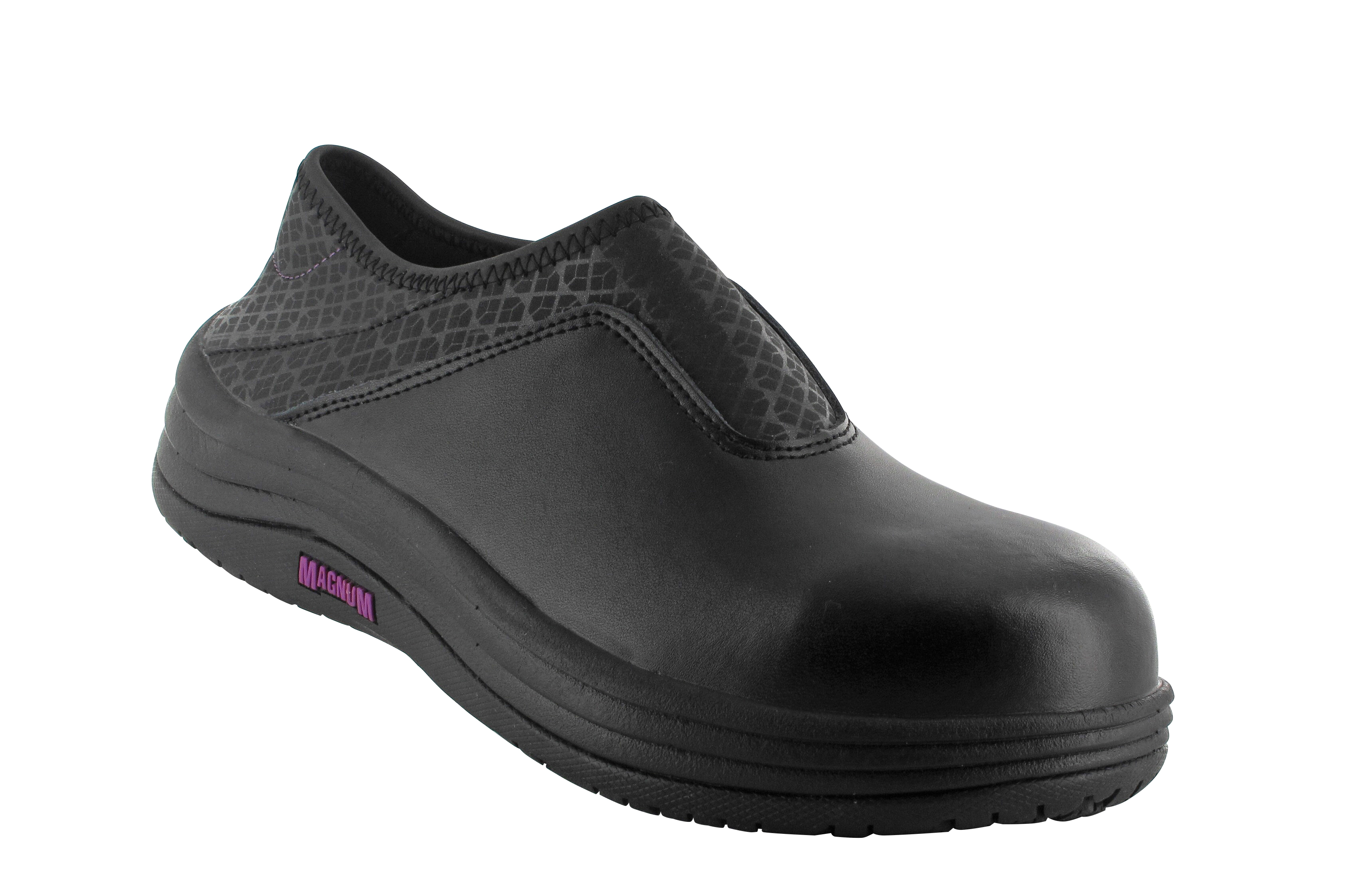 New Magnum Womens Black Nurses Healthcare Catering Work Slip Resistant Shoes | EBay
