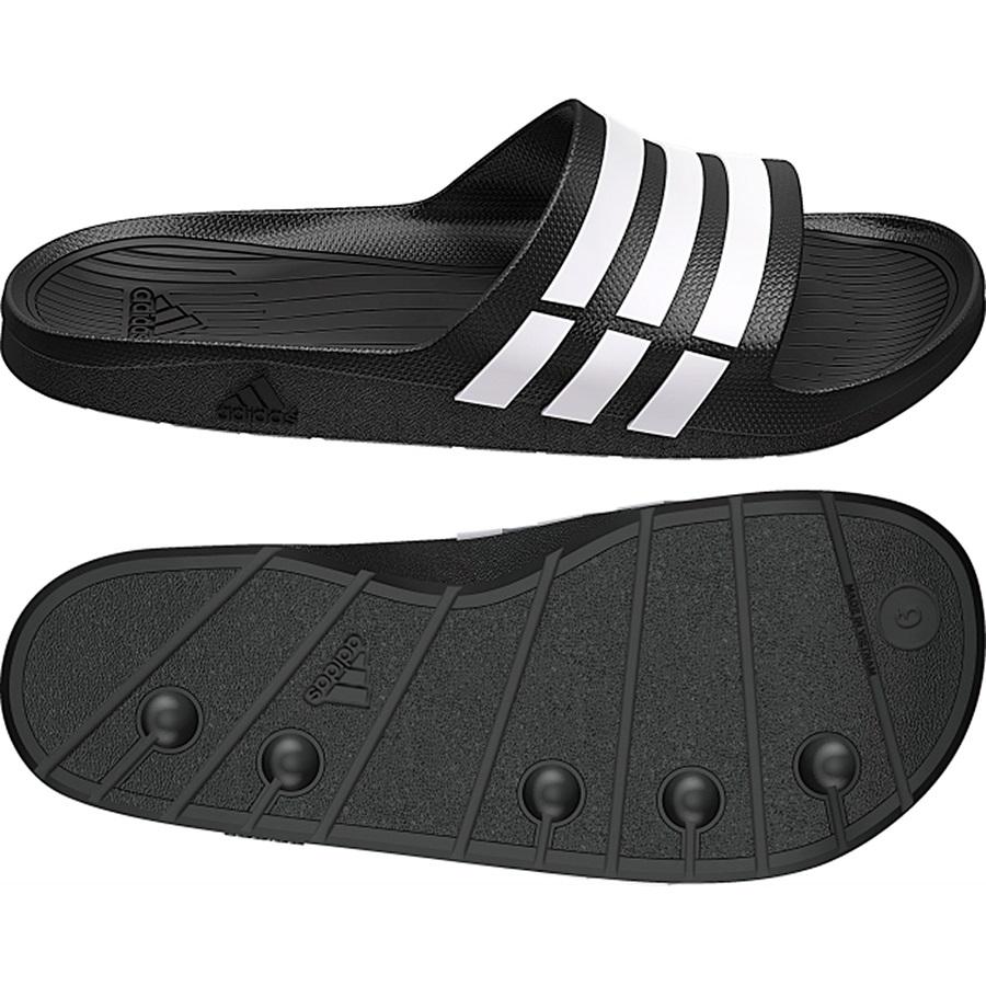 New Mens Unisex Womens Adidas Duramo Slide Flip Flops ...