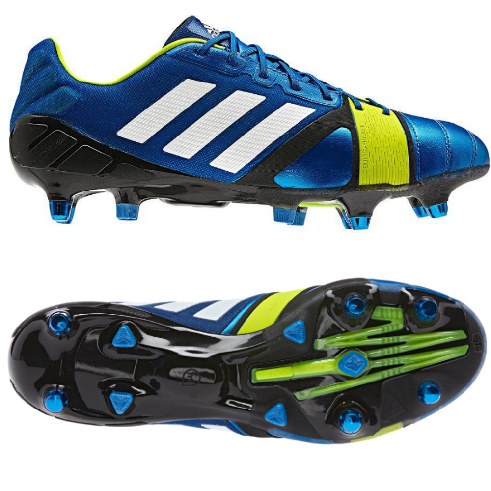 adidas nitrocharge 1 0 xtr blue firm ground performance. Black Bedroom Furniture Sets. Home Design Ideas