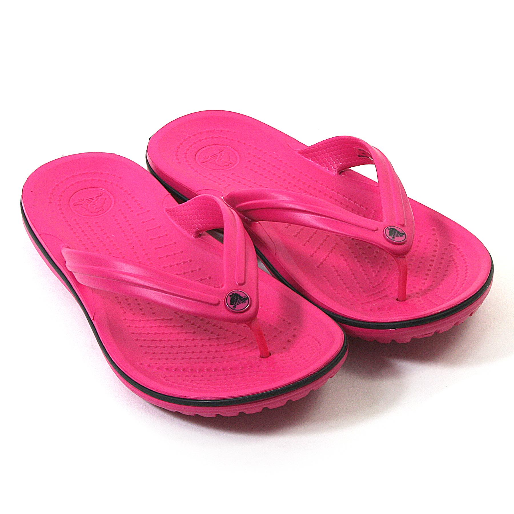 new genuine crocs unisex crocband flip flops lightweight comfort sandals 3 12 uk ebay. Black Bedroom Furniture Sets. Home Design Ideas