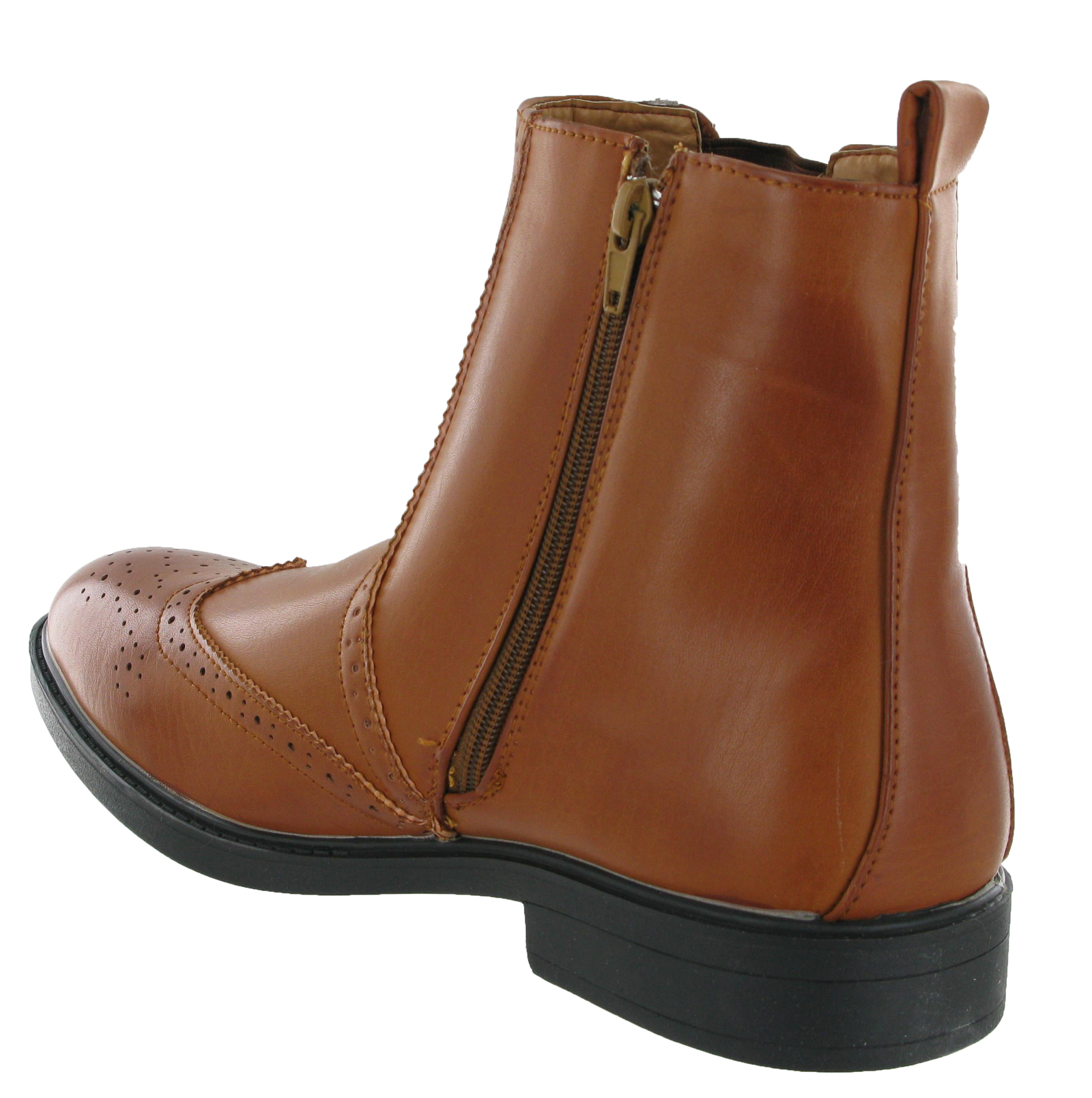 Mens Zip Up Boots - Cr Boot