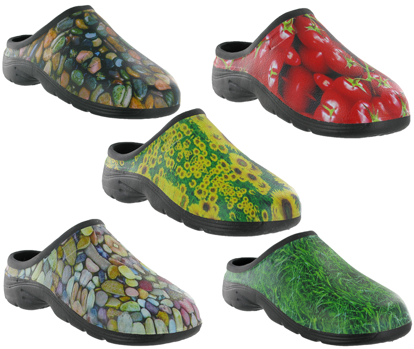 Out Door Gardening Clog Waterproof Back Garden Shoes Mens Womens
