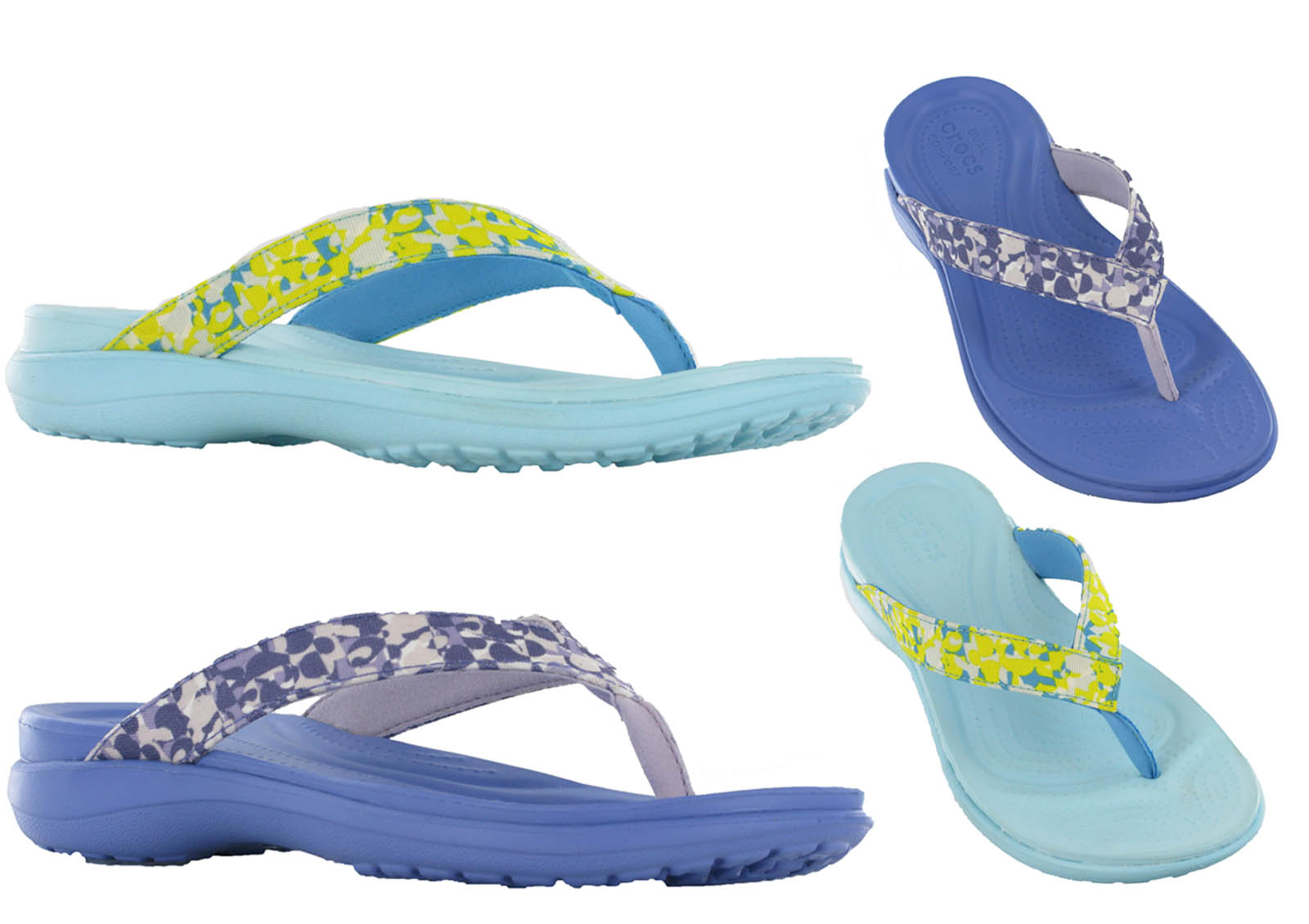 crocs capri v deco flip summer comfort flip flop toe post. Black Bedroom Furniture Sets. Home Design Ideas