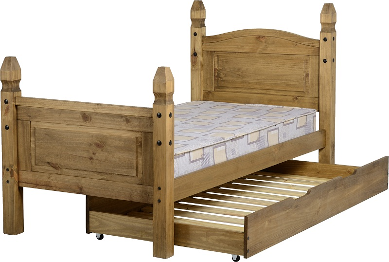 Corona Under Bed Pull Out For Pine Single Bed 3ft L