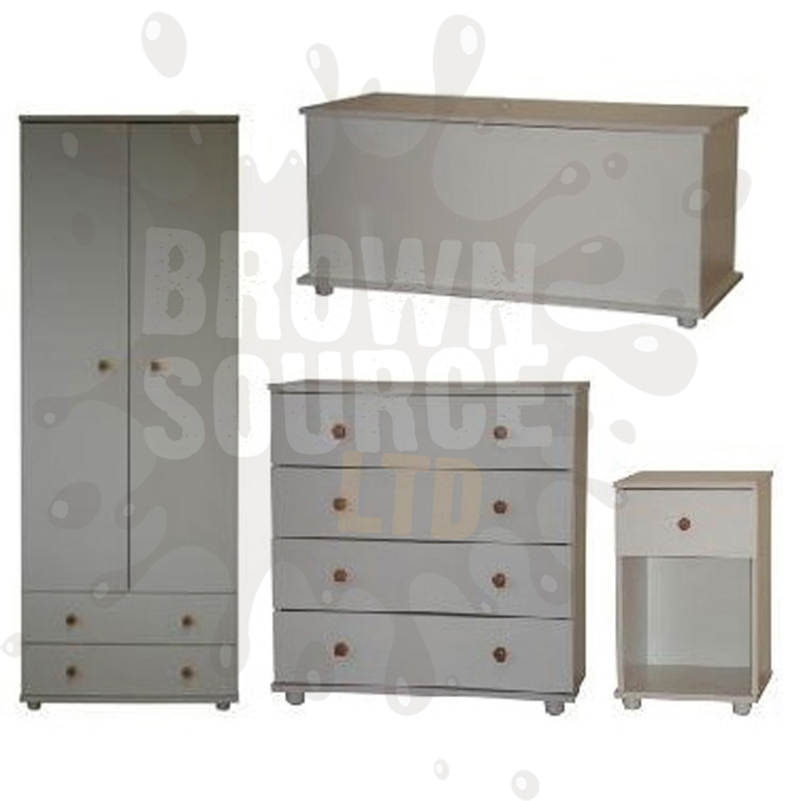 Toy chest with drawers queen