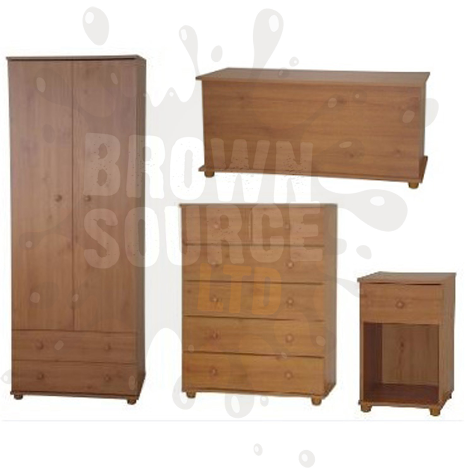#91643A Pine Chest Of Drawers Wardrobe Bedside Table Ottoman Storage Toy Chest  with 1600x1600 px of Brand New Pine Bedroom Chest Of Drawers 16001600 pic @ avoidforclosure.info