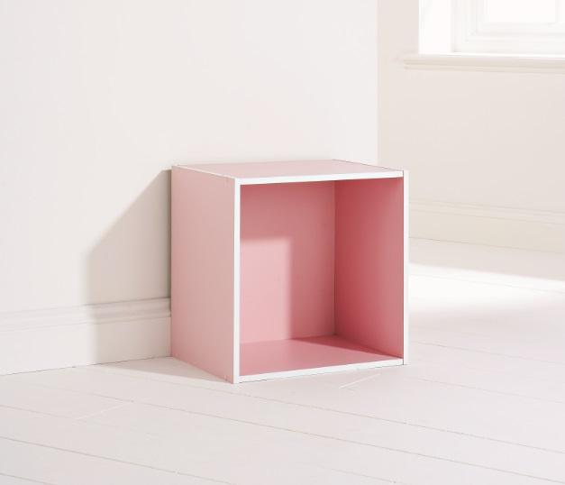 bedroom storage cube system pink shelving system 1