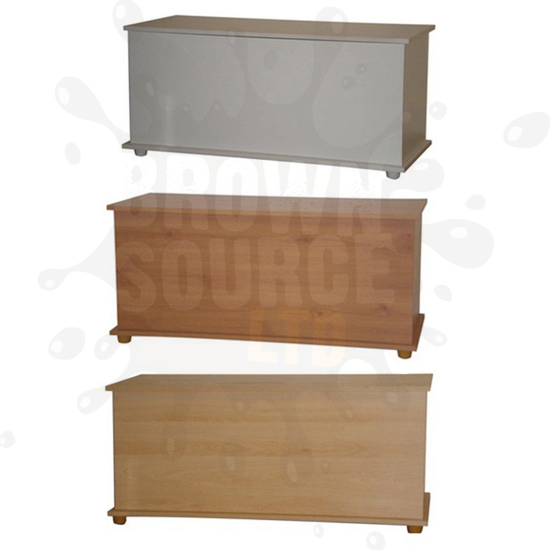 Ottoman storage chest toy blanket storage or bedding box for White ottoman storage box