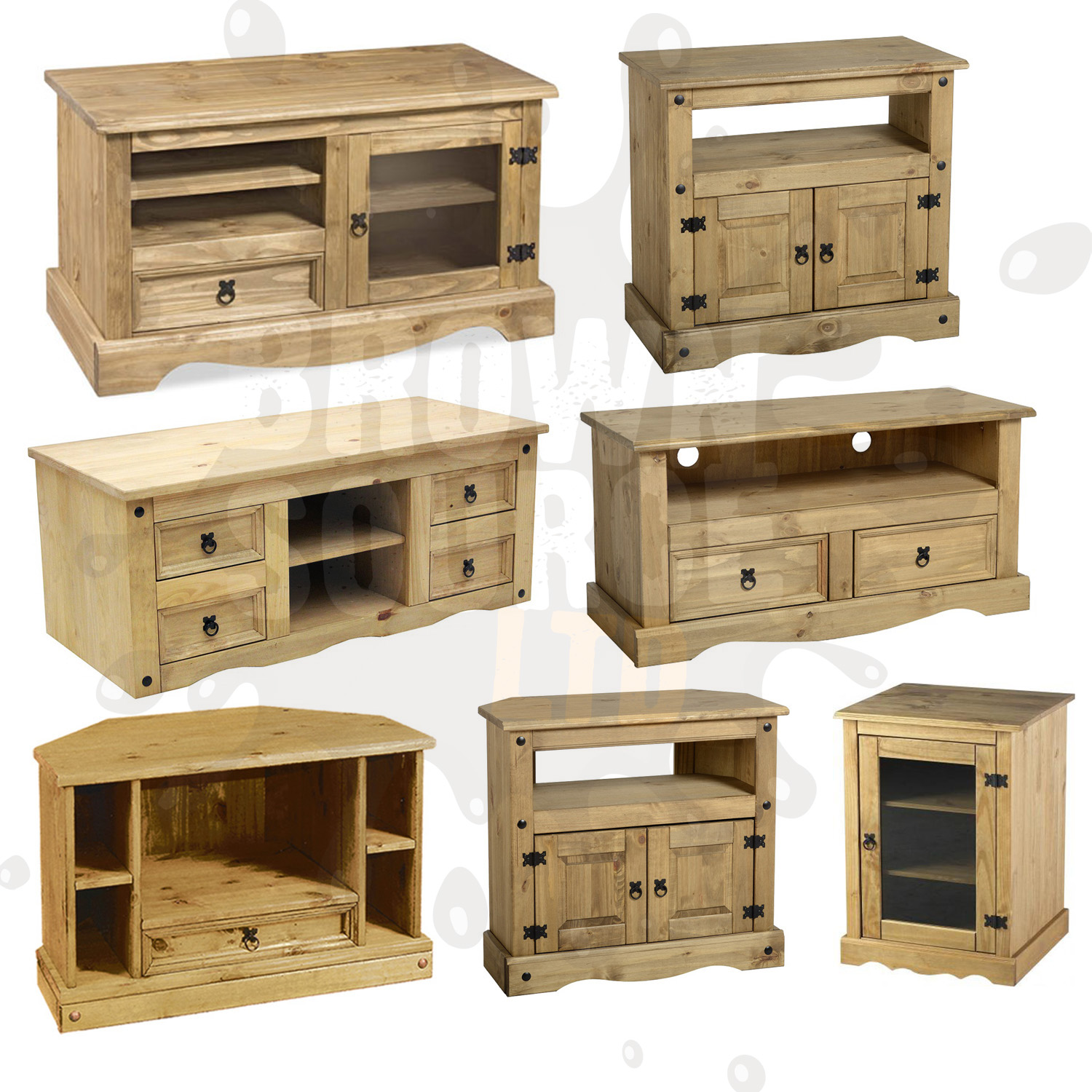 Coastal style tv console home decoration club for Solid wood furniture