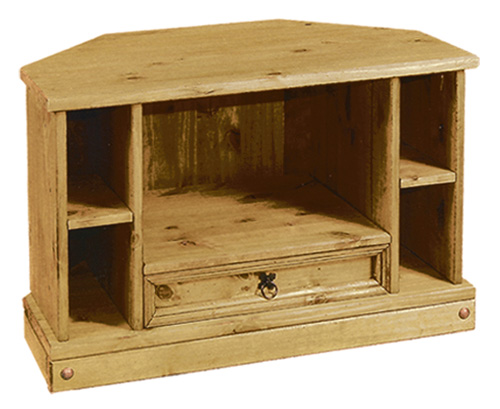 Corona Tv Stand Living Room Furniture Solid Wood Mexican Pine