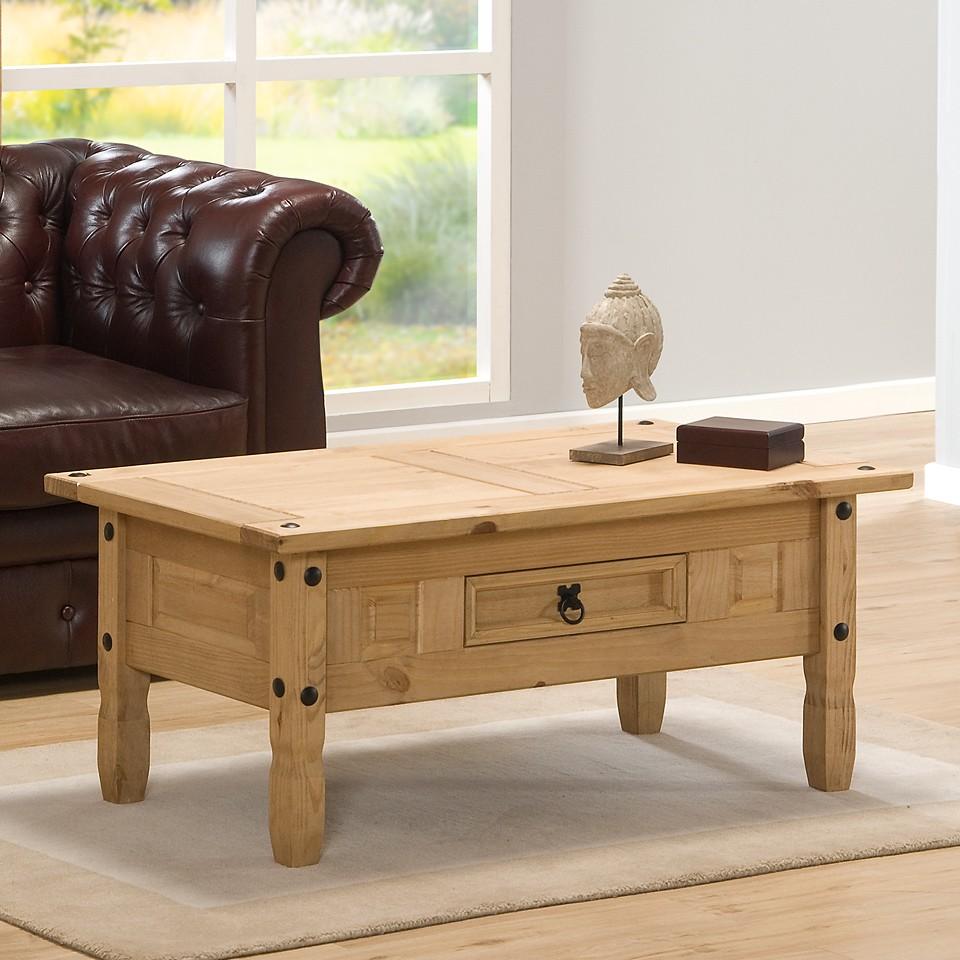 Pine Coffee Table Uk: Coffee Table Aztec Light Corona Pine Occasional Or