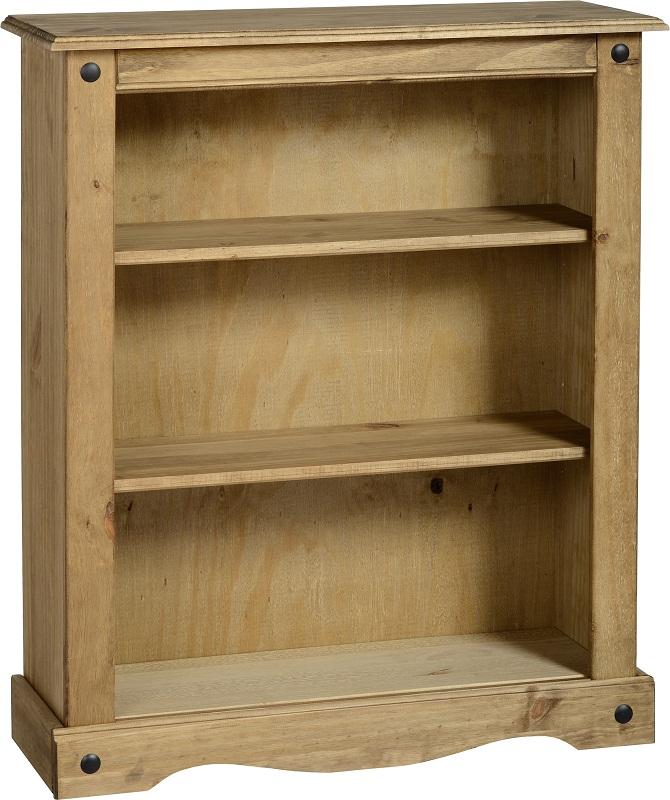 pine bookcase books