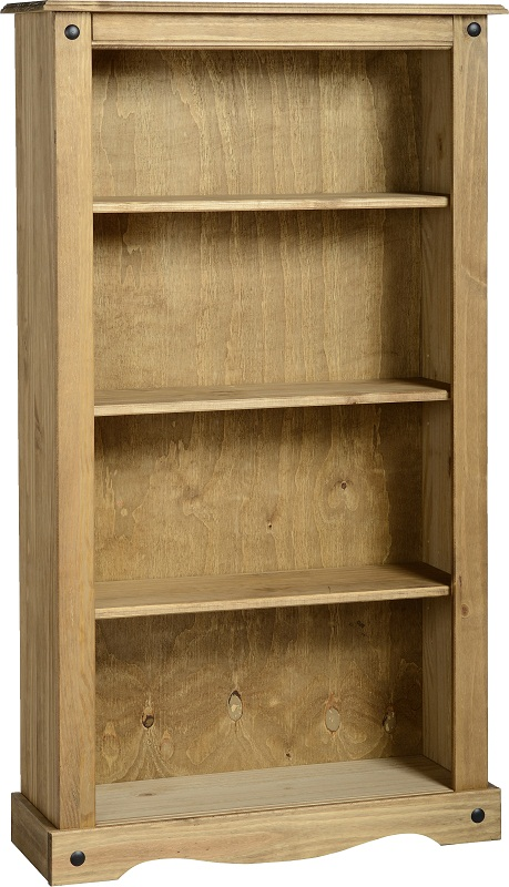 Corona Pine Bookcase Living Room Furniture Book Shelves Mexican Solid Wood