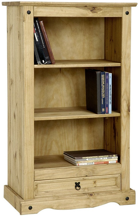 Corona-Pine-Bookcase-Living-Room-Furniture-Book-Shelves-Mexican-Solid-Wood