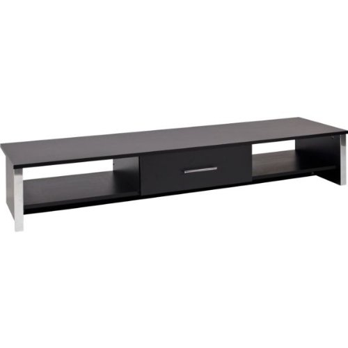 Bookcase Coffee Table Tv Stand Nest Of Tables Entertainment Unit Sideboard Black