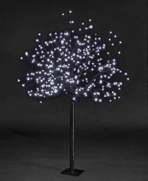 Xmas Tree Cherry Blossom Christmas Tree Outdoor Decoration 200 LED White Ligh