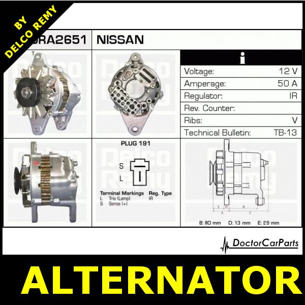 DRA2651 G citroen berlingo alternator wiring diagram efcaviation com nissan alternator wiring diagram at gsmportal.co