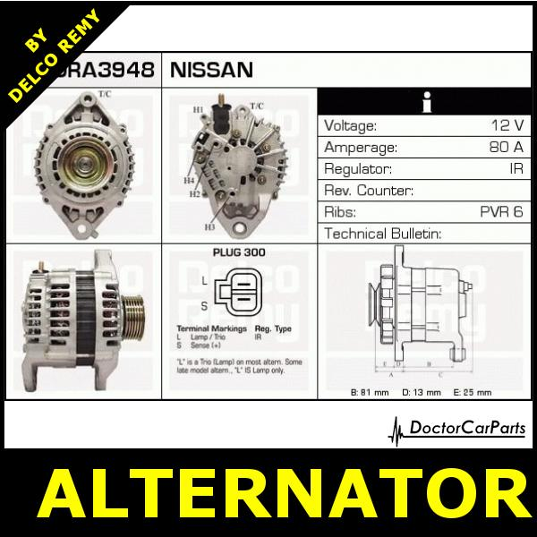 Nissan Alternator Wiring - Facbooik.com