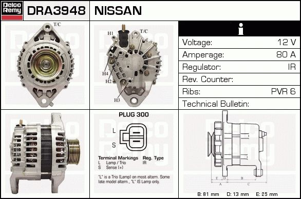 Nissan Micra Alternator Wiring Diagram