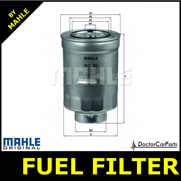 Mazda 6 Fuel Filter 2 0 Diesel 02 On Mahle Kc83