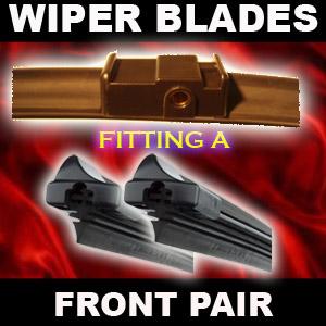 WIPER BLADES FRONT FLAT Ford Galaxy (01-06) [28