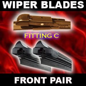 WIPER BLADES FRONT FLAT Corsa D (Sept-06 on) [26