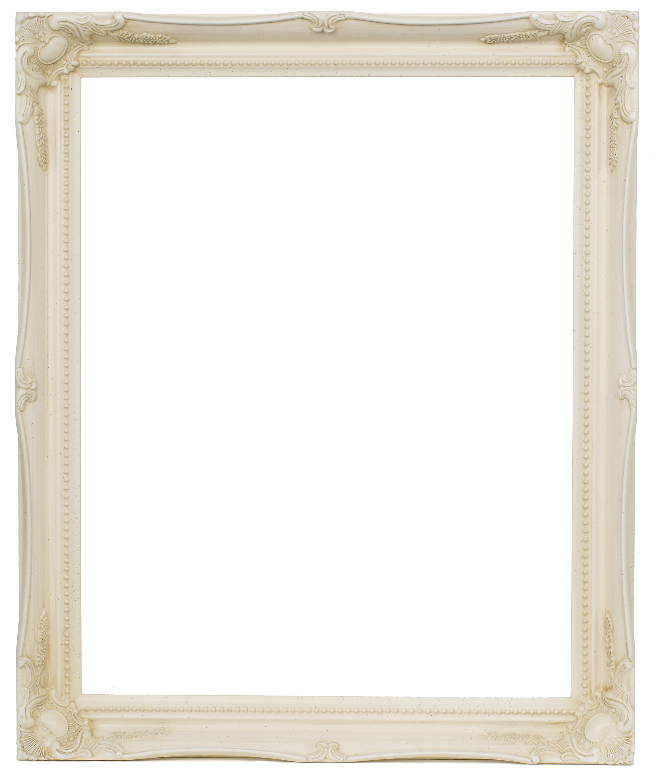 White Wood Frame : Swept Antique Effect Wooden Frames 2