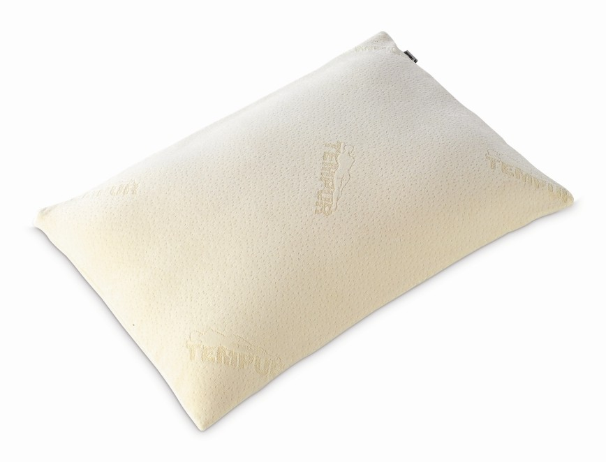 Tempur Traditional Pillow Memory Foam Cream 74cmx50cm New