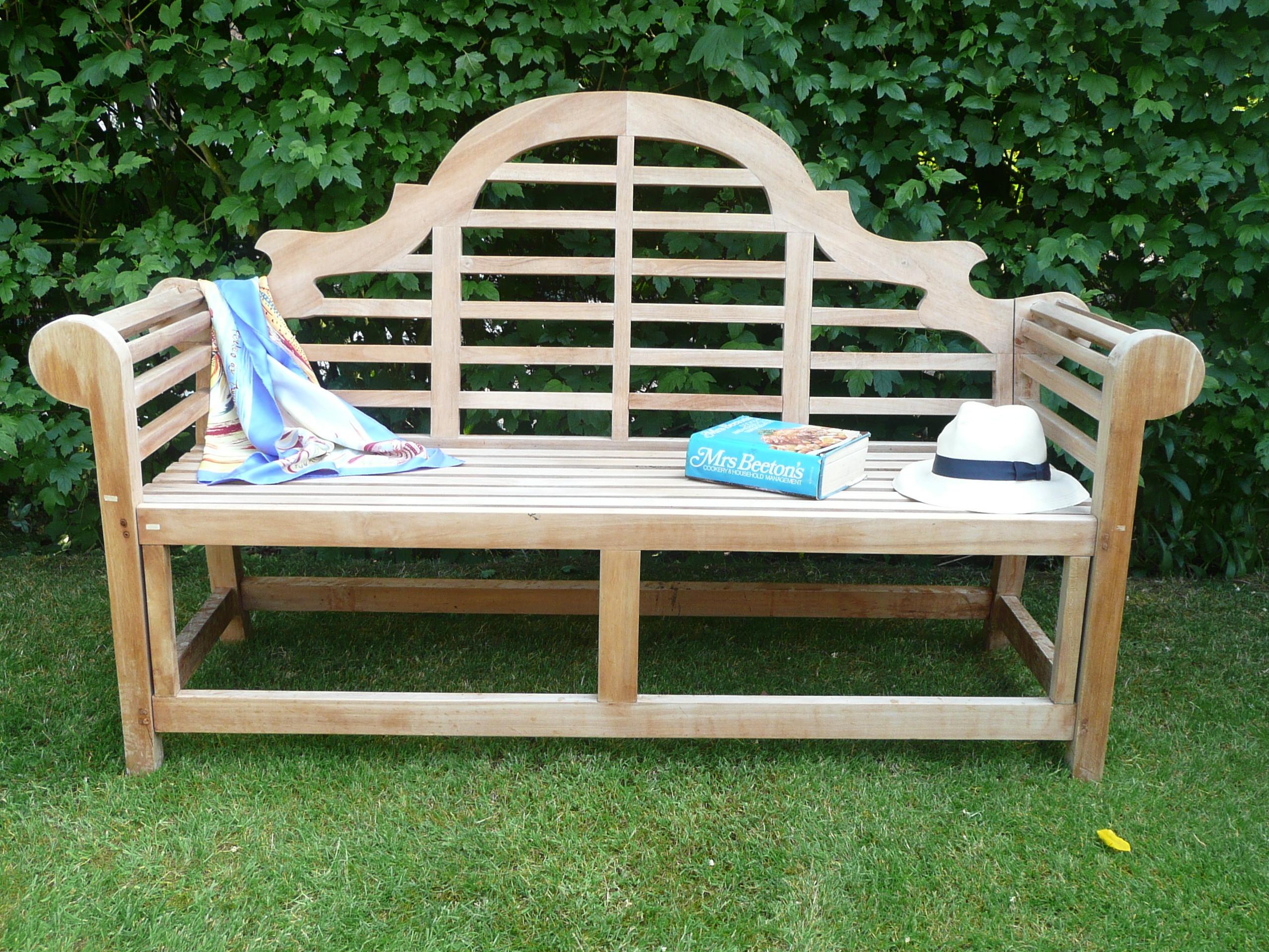 Humber Imports Garden Lutyens Bench Classic 4 Seater Geade A Teak Wood New Ebay