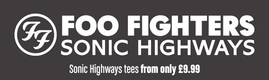 Foo Fighters T-shirts