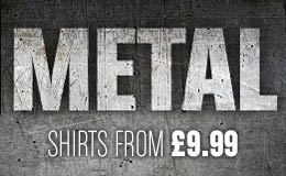 Buy Metal T-shirts and Merchandise
