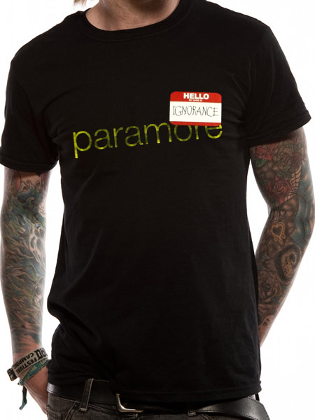 Paramore (Ignorance) T-shirt Thumbnail 1