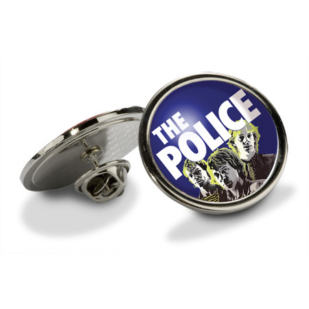 The Police (Photo) Pin Badge