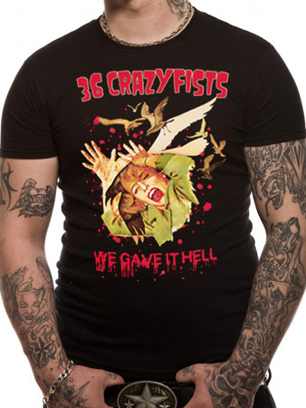 36 Crazyfists (We Gave It Hell) T-shirt