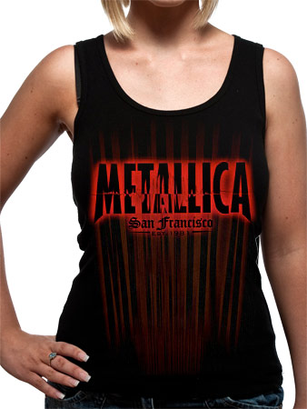 Metallica (San Francisco) Girls Vest