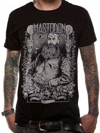Mastodon (Beard) T-shirt Thumbnail 1