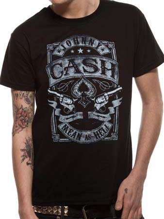 Johnny Cash (Mean') T-shirt