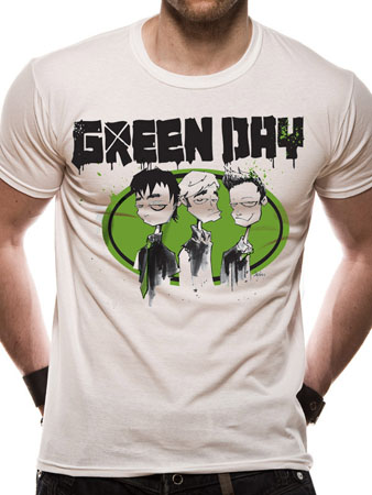 Green Day (Drawn Together) T-shirt Preview