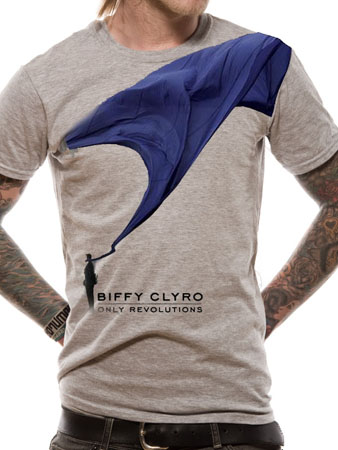Biffy Clyro (Giant Flag) T-shirt Preview
