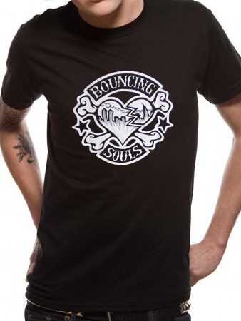 Bouncing Souls (Rocker Heart) T-shirt