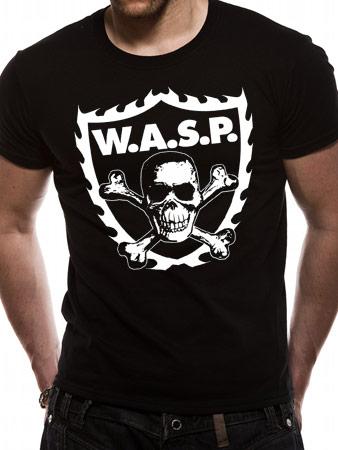 WASP (Crossbones) T-shirt Thumbnail 1