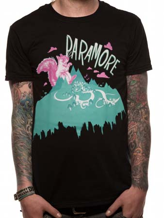 Paramore (Squirrel) T-shirt Thumbnail 1