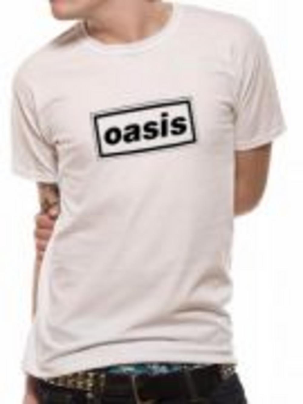 oasis logo t shirt buy oasis logo t shirt at the kerrang online store uk oasis store. Black Bedroom Furniture Sets. Home Design Ideas