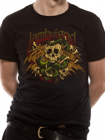 Lamb Of God (Venom) T-shirt Thumbnail 1